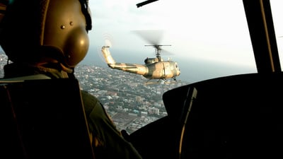 FAD3065 - Bell UH-1D Huey - Dominican Republic - Air Force