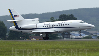 M37-01 - Dassault Falcon 900 - Malaysia - Air Force