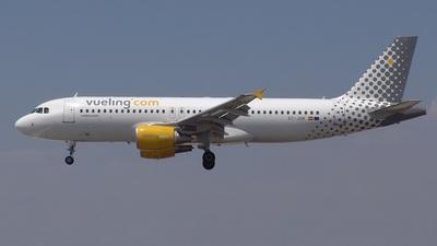 EC-JGM - Airbus A320-214 - Vueling