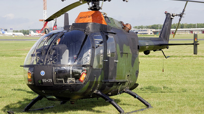 86-29 - MBB Bo105P1 - Germany - Army