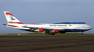 HS-UTK - Boeing 747-306(M) - Garuda Indonesia (Orient Thai Airlines)