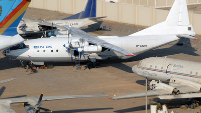 UP-AN209 - Antonov An-12B - East Wing