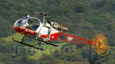 HB-XTO - Aérospatiale SA 315B Lama - Air Glaciers