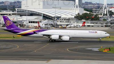 HS-TNC - Airbus A340-642 - Thai Airways International