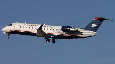 N412AW - Bombardier CRJ-200ER - US Airways Express (Air Wisconsin)