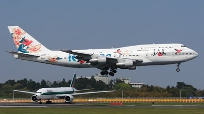 JA8183 - Boeing 747-346 - Japan Airlines (JAL)