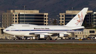 N747FU - Boeing 747SP-27 - Private