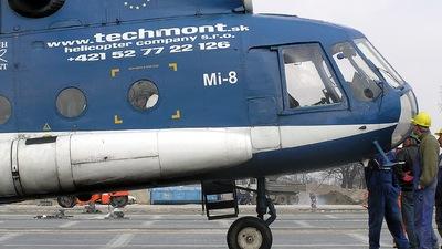 OM-TMT - Mil Mi-8 Hip - Techmont Helicopter Company