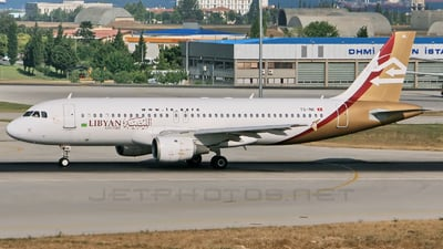 TS-INE - Airbus A320-211 - Libyan Airlines (Nouvelair)