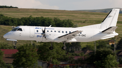 YR-DAC - Saab 340A - Direct Aero Services (Blue Air)