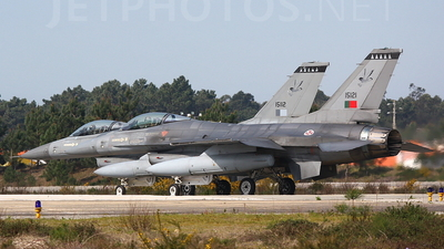 15121 - General Dynamics F-16AM Fighting Falcon - Portugal - Air Force