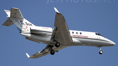 TC-MOH - Hawker Beechcraft 900XP - Turkey - Ministry of Health