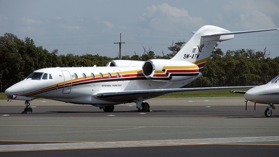9M-ATM - Cessna 750 Citation X - Hornbill Skyways