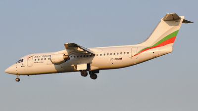 LZ-HBG - British Aerospace BAe 146-300 - Bulgaria Air