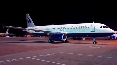 D-ANNC - Airbus A320-232 - Blue Wings