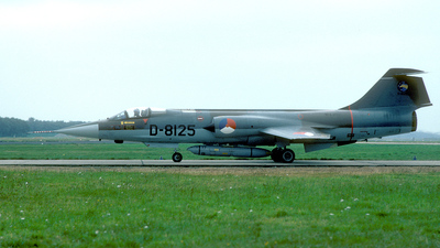 D-8125 - Lockheed RF-104G Starfighter - Netherlands - Royal Air Force