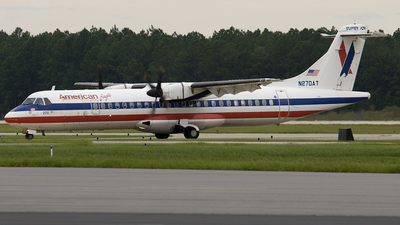N270AT - ATR 72-202 - American Eagle (Executive Airlines)