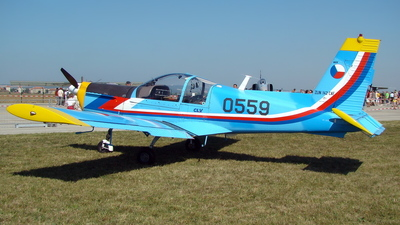 0559 - Zlin 142C-AF - Czech Republic - Air Force