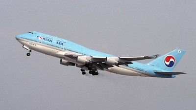 HL7484 - Boeing 747-4B5 - Korean Air