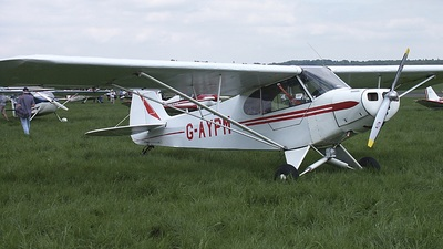 A picture of GAYPM - Piper L18C Super Cub - [181373] - © Paul Chandler