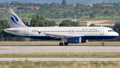 D-ANNG - Airbus A320-232 - Blue Wings