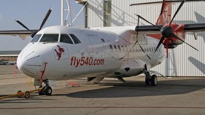 ZS-OVL - ATR 42-320 - Fly540