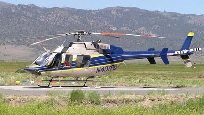 N407PB - Bell 407 - Bridgeport Helitack