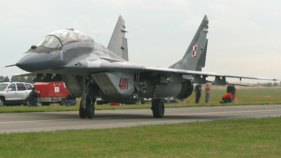 4110 - Mikoyan-Gurevich MiG-29GT Fulcrum - Poland - Air Force
