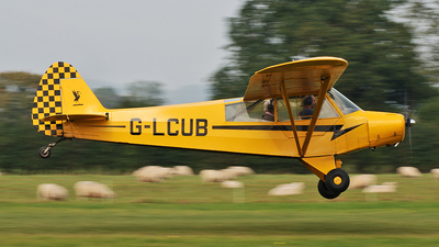 A picture of GLCUB - Piper L18C Super Cub - [181631] - © Brian Whitelegg