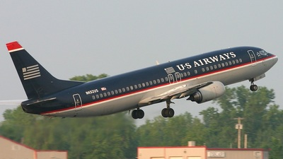 N432US - Boeing 737-4B7 - US Airways