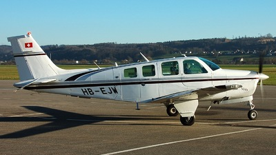 HB-EJW - Beechcraft B36TC Bonanza - Private