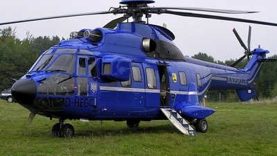 D-HEGC - Aérospatiale AS 332L1 Super Puma - Germany - Bundespolizei