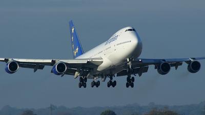 G-BDXF - Boeing 747-236B - European Aviation (EAL)
