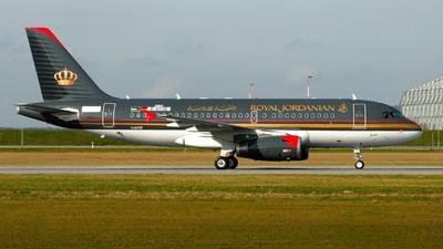 D-AVYQ - Airbus A319-132 - Royal Jordanian