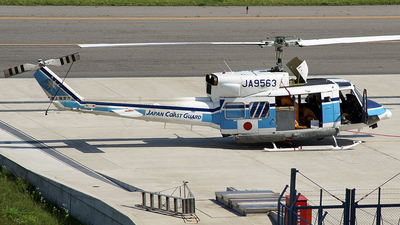JA9563 - Bell 212 - Japan - Coast Guard