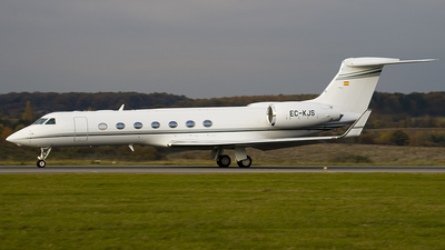 EC-KJS - Gulfstream G550 - Executive Airlines