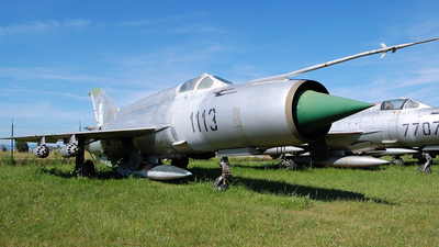 1113 - Mikoyan-Gurevich MiG-21MF Fishbed J - Slovakia - Air Force