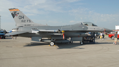 86-0262 - General Dynamics F-16C Fighting Falcon - United States - US Air Force (USAF)