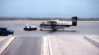 SX-BBO - Short SC-7 Skyvan 3-100 - Olympic Airways