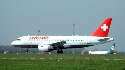 HB-IPY - Airbus A319-112 - Swissair