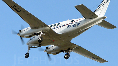 PT-OPE - Beechcraft C90 King Air - TAF Linhas Aéreas