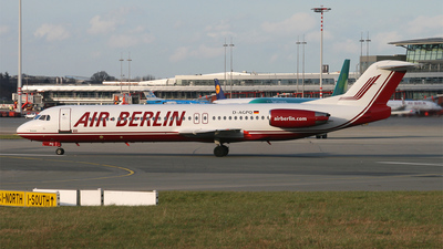 D-AGPQ - Fokker 100 - Air Berlin (Germania)
