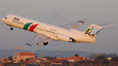 CS-TPE - Fokker 100 - PGA Portugália Airlines