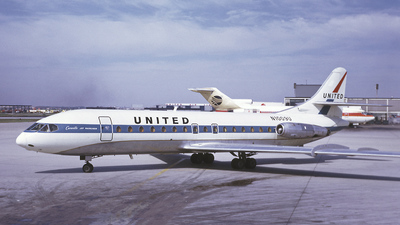 N1009U - Sud Aviation SE 210 Caravelle VIR - United Airlines