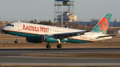 N664AW - Airbus A320-232 - America West Airlines