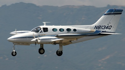 N8134Q - Cessna 414 - Private