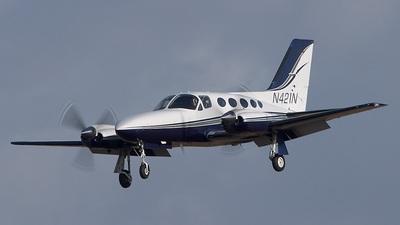 A picture of N421N - Cessna 421C Golden Eagle - [421C1235] - © Colin K. Work - Pixstel