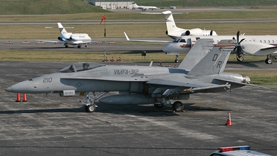 163124 - McDonnell Douglas F/A-18A+ Hornet - United States - US Marine Corps (USMC)