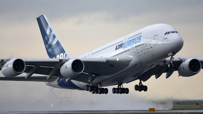 F-WWEA - Airbus A380-861 - Airbus Industrie