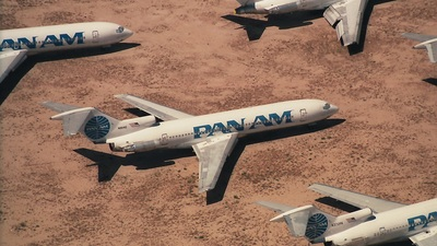 N8841E - Boeing 727-225 - Pan Am